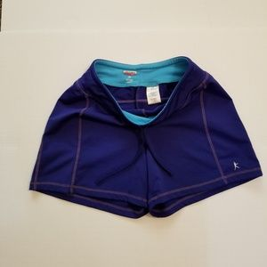 Danskin Athletic Shorts Blue Size S